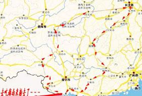 老罗、老姚--黔桂、中越边境游记!GN250 (35)