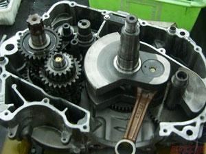 嘉陵JH600发动机的结构图-解剖图