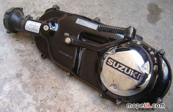 传动箱罩-放油螺丝; 海王星摩托车; 踏板车换齿轮油图解;