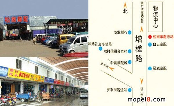 广州松南摩配市场