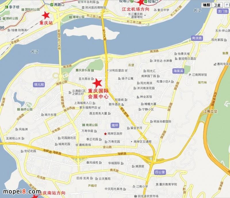 重庆市中心地图高清_重庆市中心地图