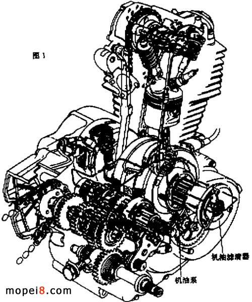 摩托车发动机空滤芯的研究