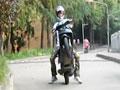 【翘头帮】练习踏板摩托车翘头 ②