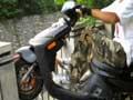 【翘头帮】摩托车贴壁静态翘头找平衡感的练习 ③ (400播放)