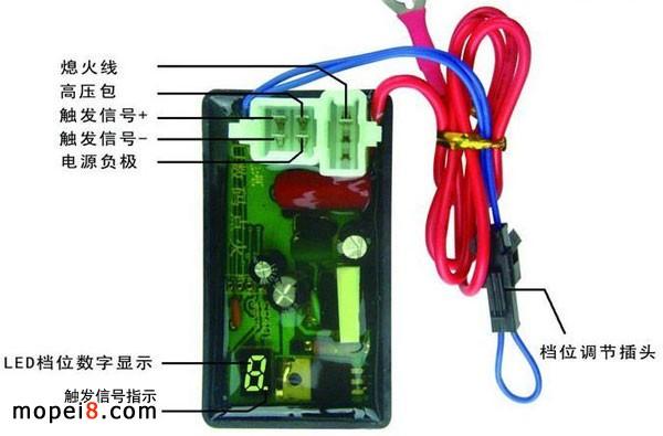 摩托车点火器接线方法内容|摩托车点火器接线方法版面设计
