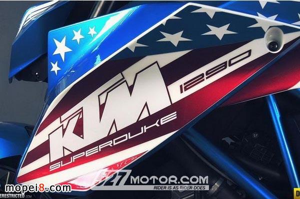KTM 1290 Super Duke R摩托车靓照