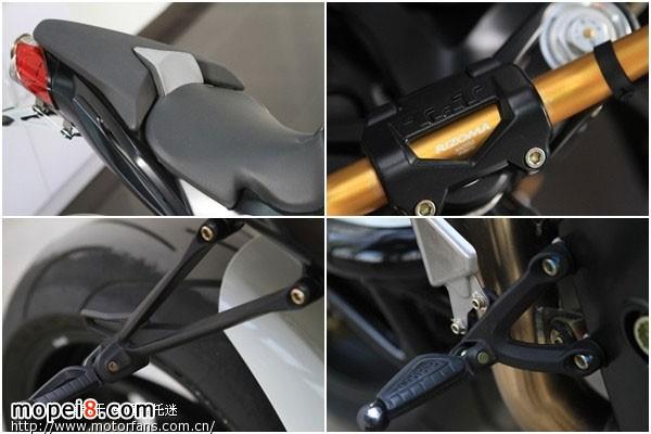 贝纳利摩托车899S 巅峰对决 法拉利汽车458 Italia