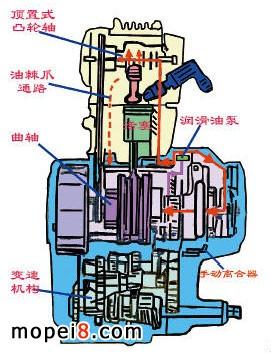 润滑油转子泵的结构图