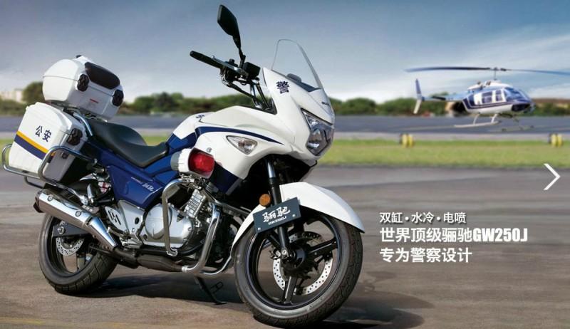 图解豪爵铃木骊驰GW250J摩托车高清图片
