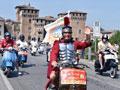 2014年世界VESPA摩托车日在意大利曼托瓦市举行