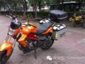贝纳利Benelli蓝宝龙300GS摩托车边箱改装实例