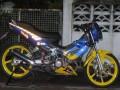 东南亚弯梁UNDER BONE摩托车改装集锦