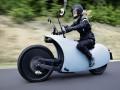未来感十足的电动摩托车