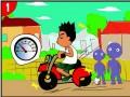 摩托车安全驾驶 主题漫画