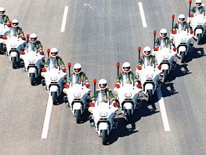 国宾摩托车护卫队 (6)