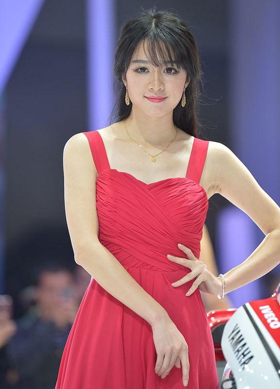 2014重庆摩博会美女模特