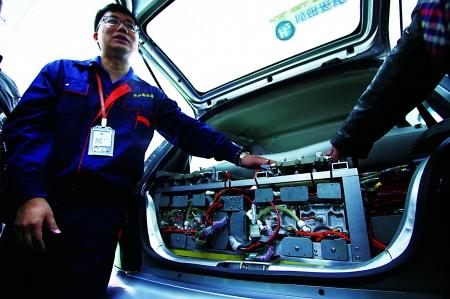氢能源改装的轿车氢能源汽车