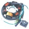 DBT-138 WY125-6极 二孔 摩托车磁电机线圈
