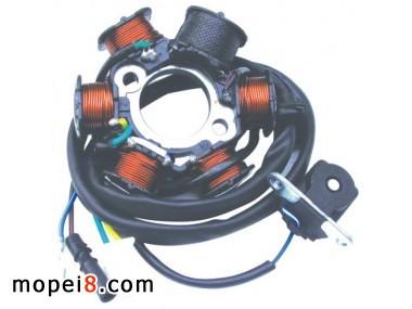 都佰特机车部件供应摩托车磁电机线圈