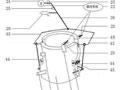 机动车空调服装置