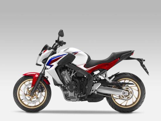 本田CB650F摩托车