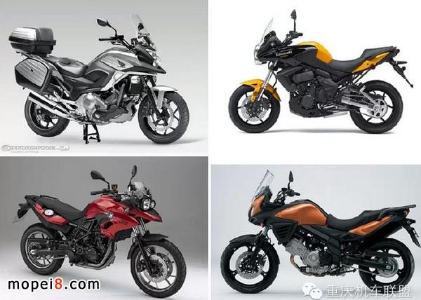 四款多功能摩托车PK