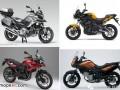 四款中量级多功能摩托车评测