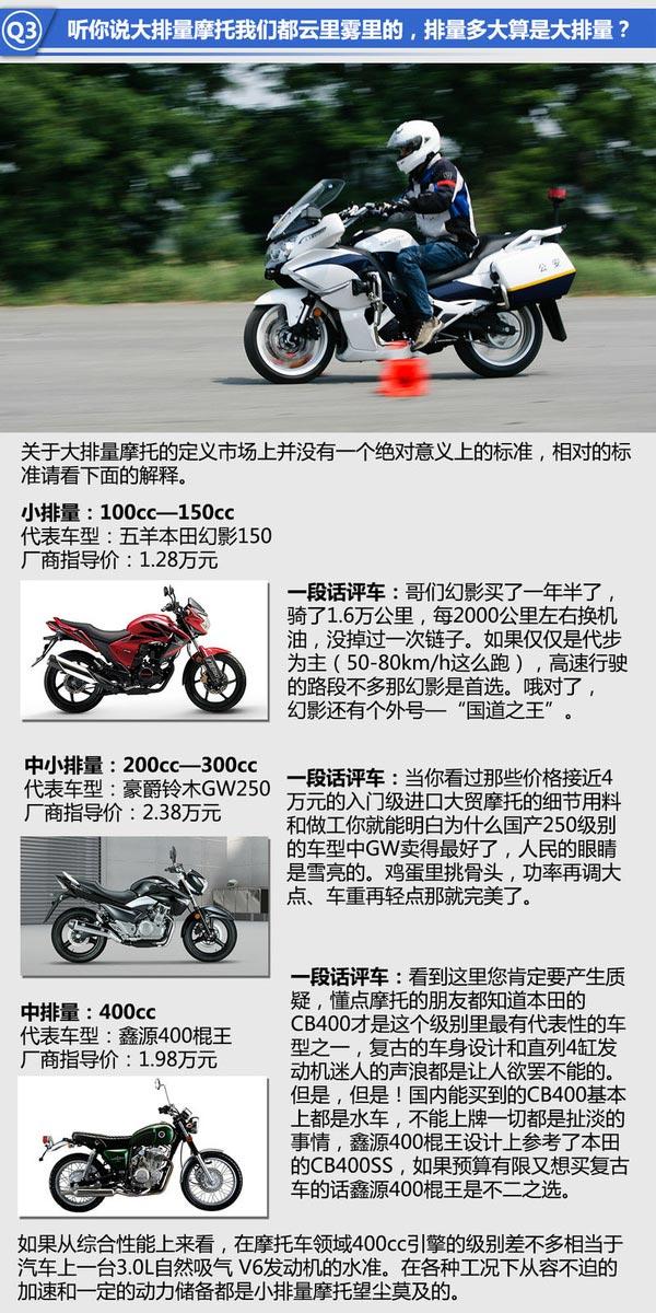 解读国产大排量摩托车