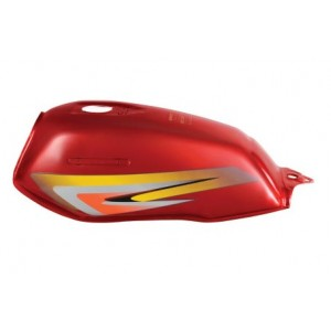 五羊E2号花 摩托车油箱(红)