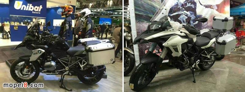 摩托车后备箱