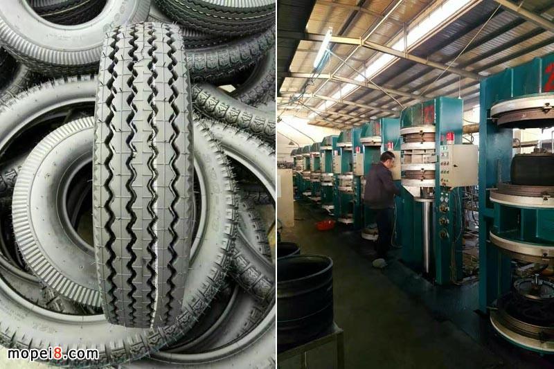 摩托车轮胎厂车间设备