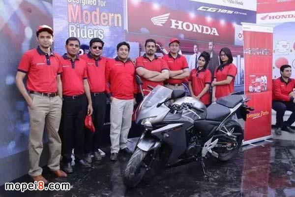 巴基斯坦本田摩托2017拉合尔售后服务大会