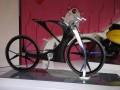 五羊—本田造价约100万元的电动自行车概念车亮相天津展