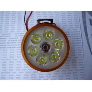 LED 外置6朱 金