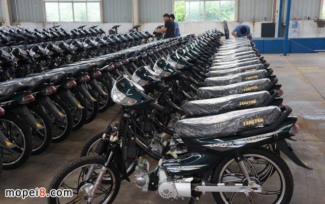 摩托车生产车间仓库