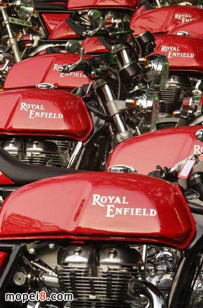 印度皇家恩菲尔德摩托车