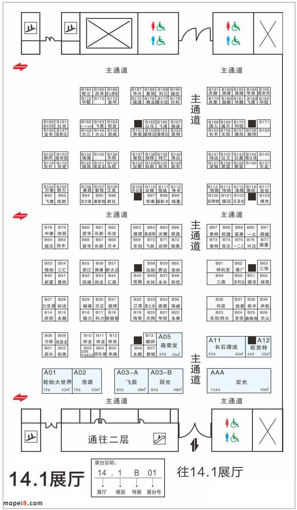 中国国际摩托车零部件展览会广交会展馆C