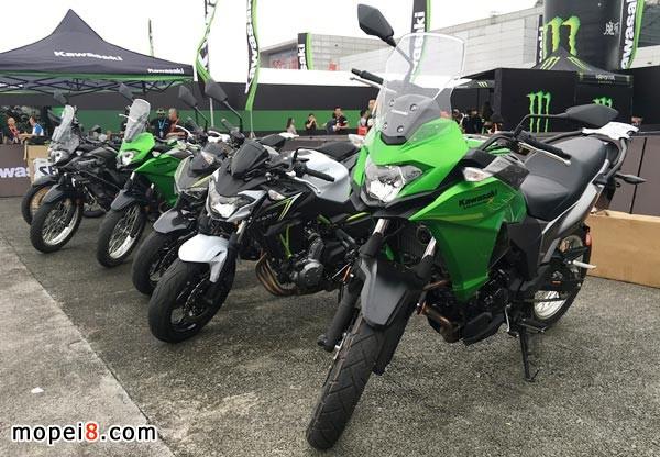 川崎大排量休闲娱乐摩托车