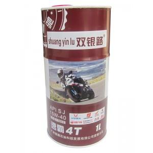 双银路润滑油 高级四冲程摩托车机油 SJ:15W-40