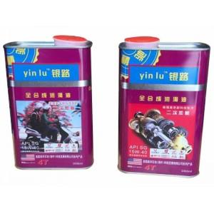 银路润滑油 全合成摩托车润滑油 SG:15W-40