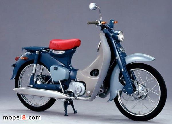 日本本田Super Cub经典摩托车