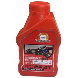 双银路润滑油 速霸4T摩托车机油 红喜力