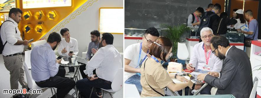 广州全国摩配展会开幕