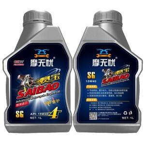 摩无忧 SG 15W40 摩托车机油 1L