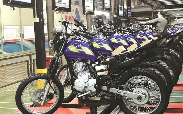摩托车产销行业数据