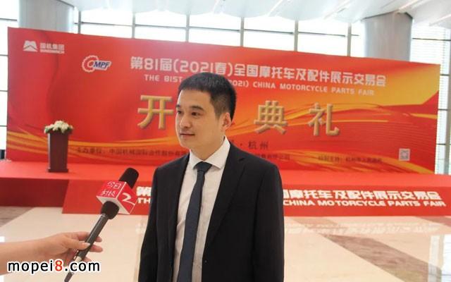 中国汽车工业配件销售有限公司副总经理王国强